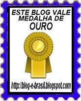 selo este blog vale medalha de ouro blog do shark